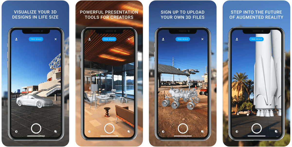 screenshots of solihaus in our collection of iOS 12 ar apps.