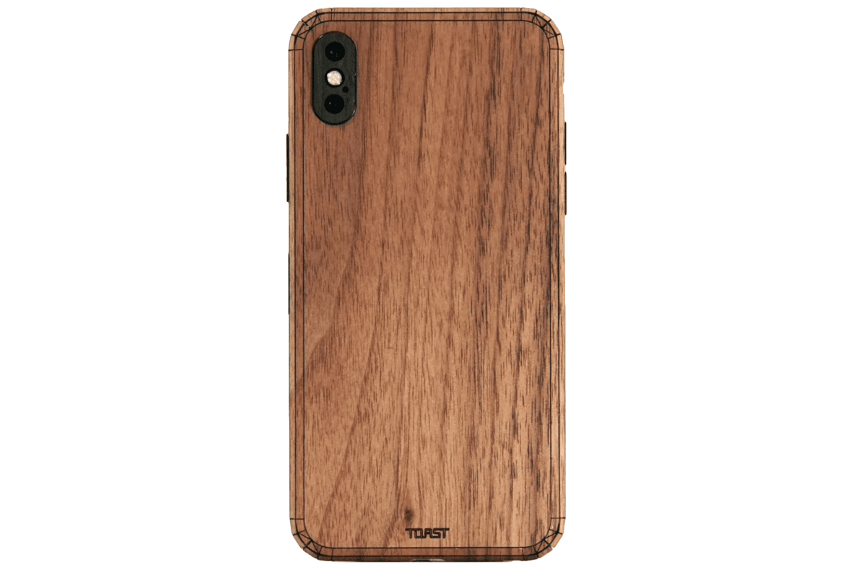 Image of a wooden Toast cover in our collection of iPhone XR cases.