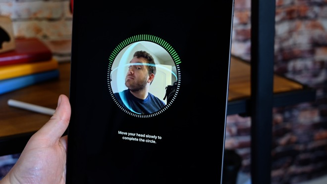 The iPad Pro's front camera is part of the TrueDepth camera system, which is also used for facial recognition