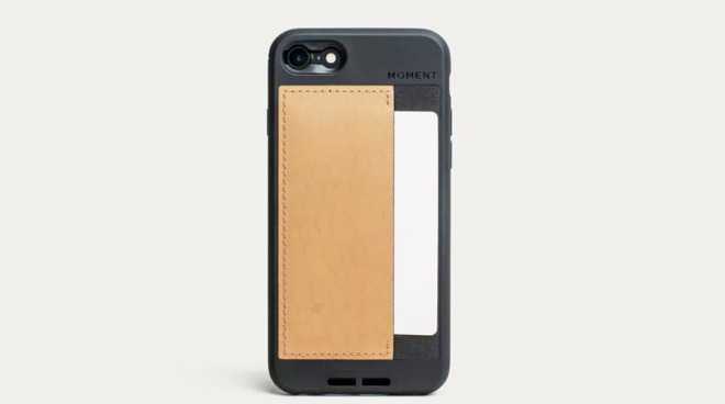 Moment wallet case for iPhone SE 2