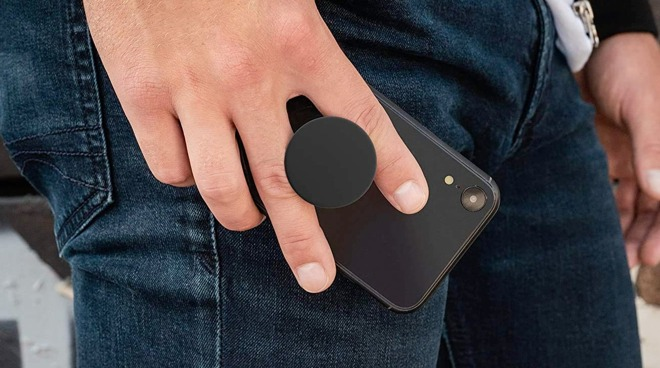 One of the many different designs of PopSockets