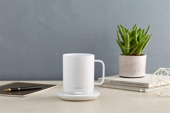The Ember is a smart mug that can keep your drinks hot indefinitely when placed on its coaster.