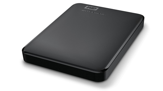 WD Elements 2 TB portable external hard drive