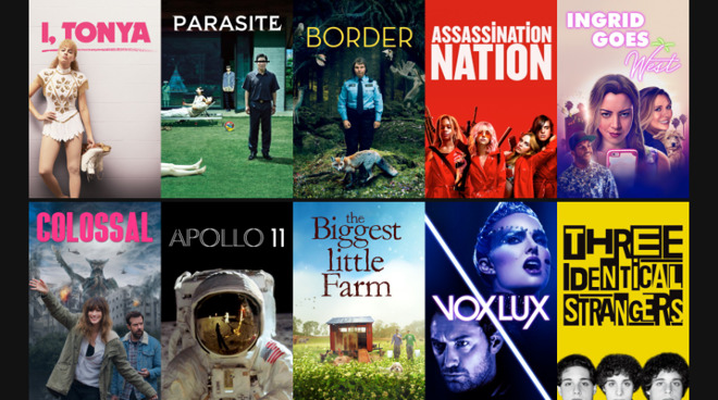 Fashionable indie movies