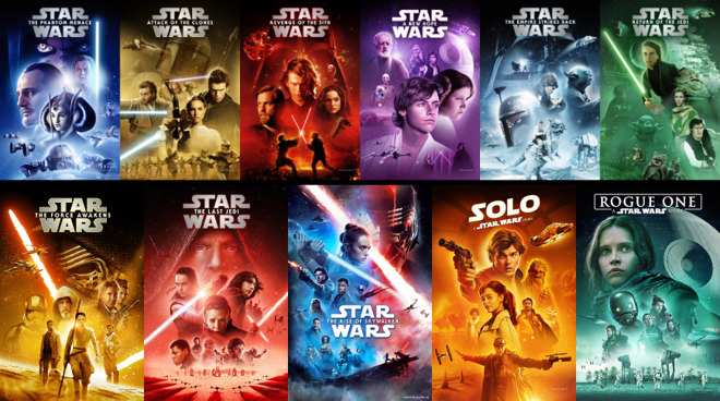 All Star Wars movies are on sale for the May 4 celebration