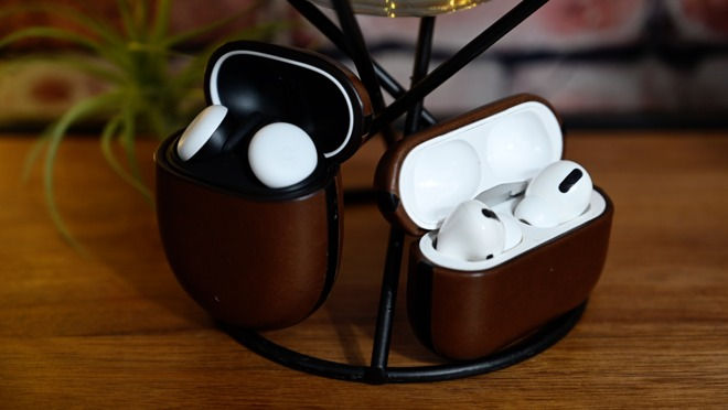 Pixel Buds and AirPods Pro