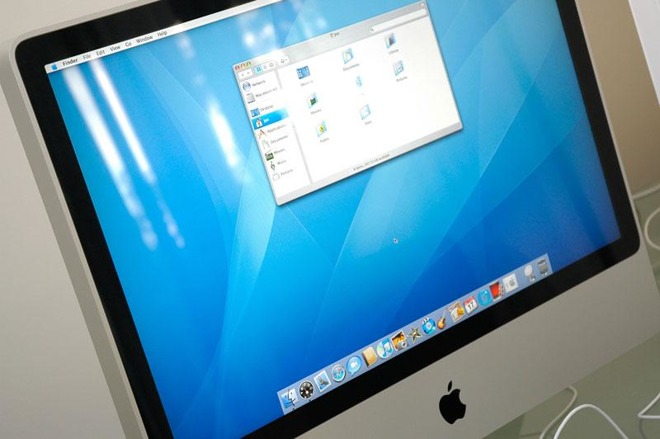 The old iMac, from 2007