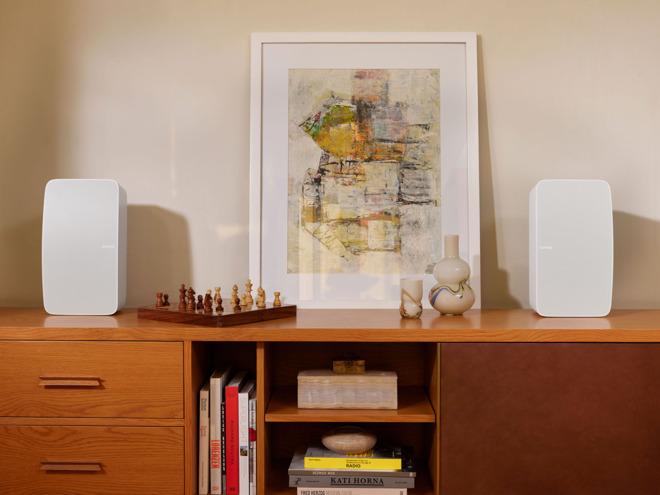 The new Sonos Five in white