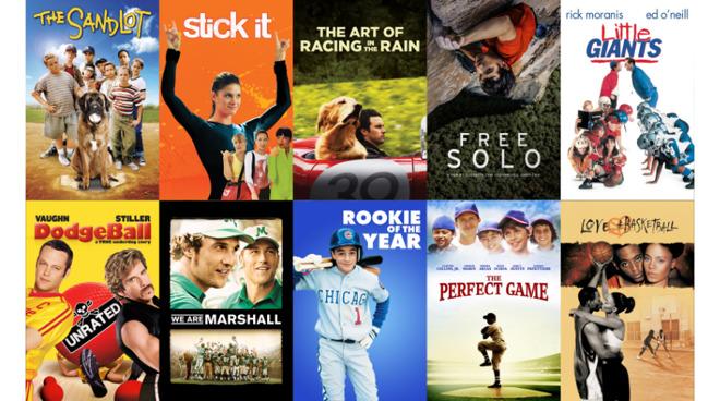 Sports movies