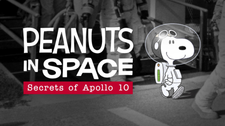 Peanuts in space