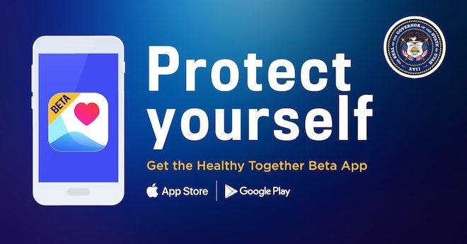 The Utah Healthy Together app is currently in beta, but it does not use the Apple-Google Exposure Notification API.