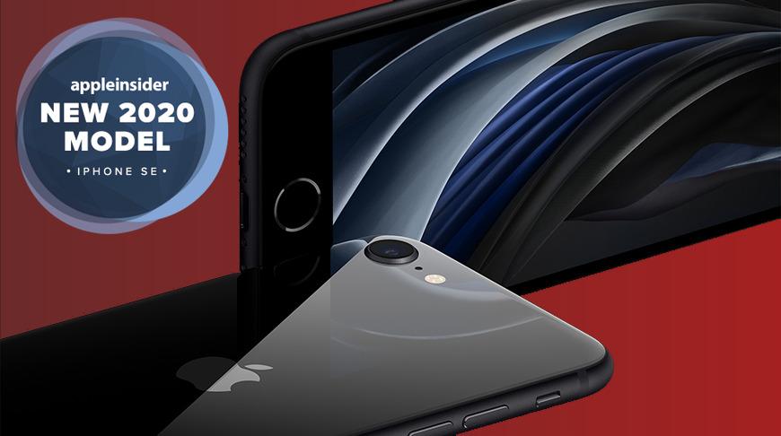 Apple iPhone SE in black