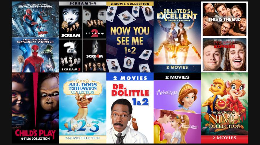 Film packs under $ 10