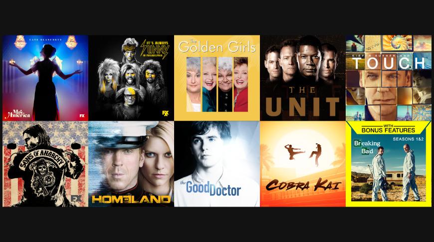 TV seasons under $ 10