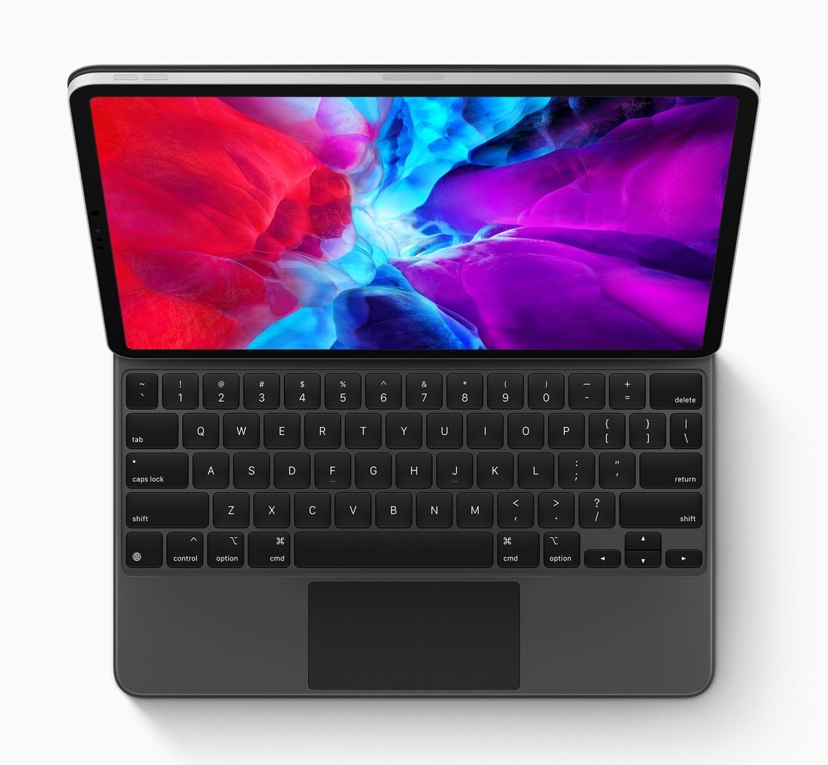Image of iPad Pro 2020 with Magic Keyboard
