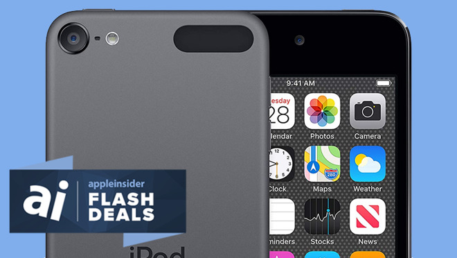 Apple iPod touch devices go on sale at low prices today only