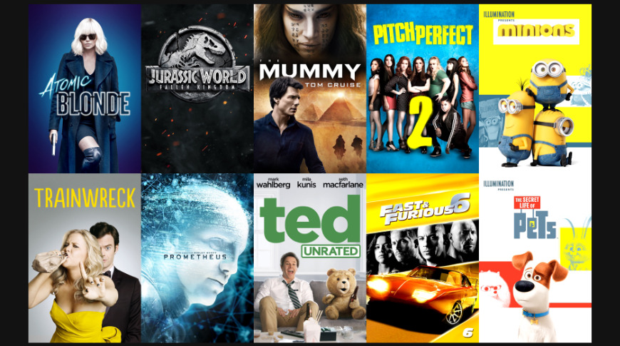 Summer blockbusters from the 2010s