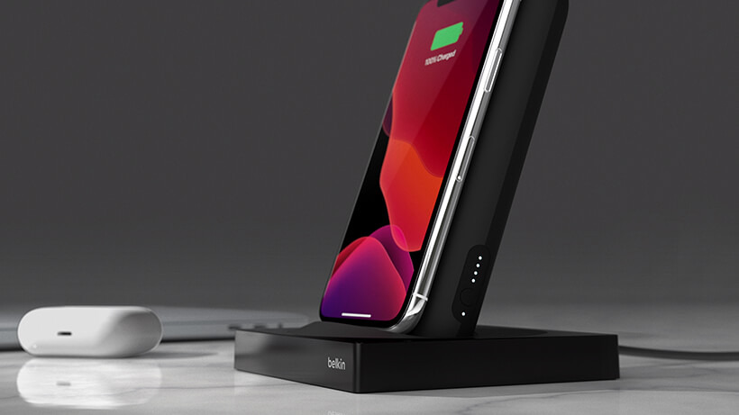 BoostCharge Portable Wireless Charger + Special Edition Holder