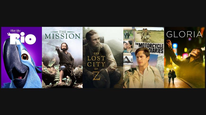 Films in South America