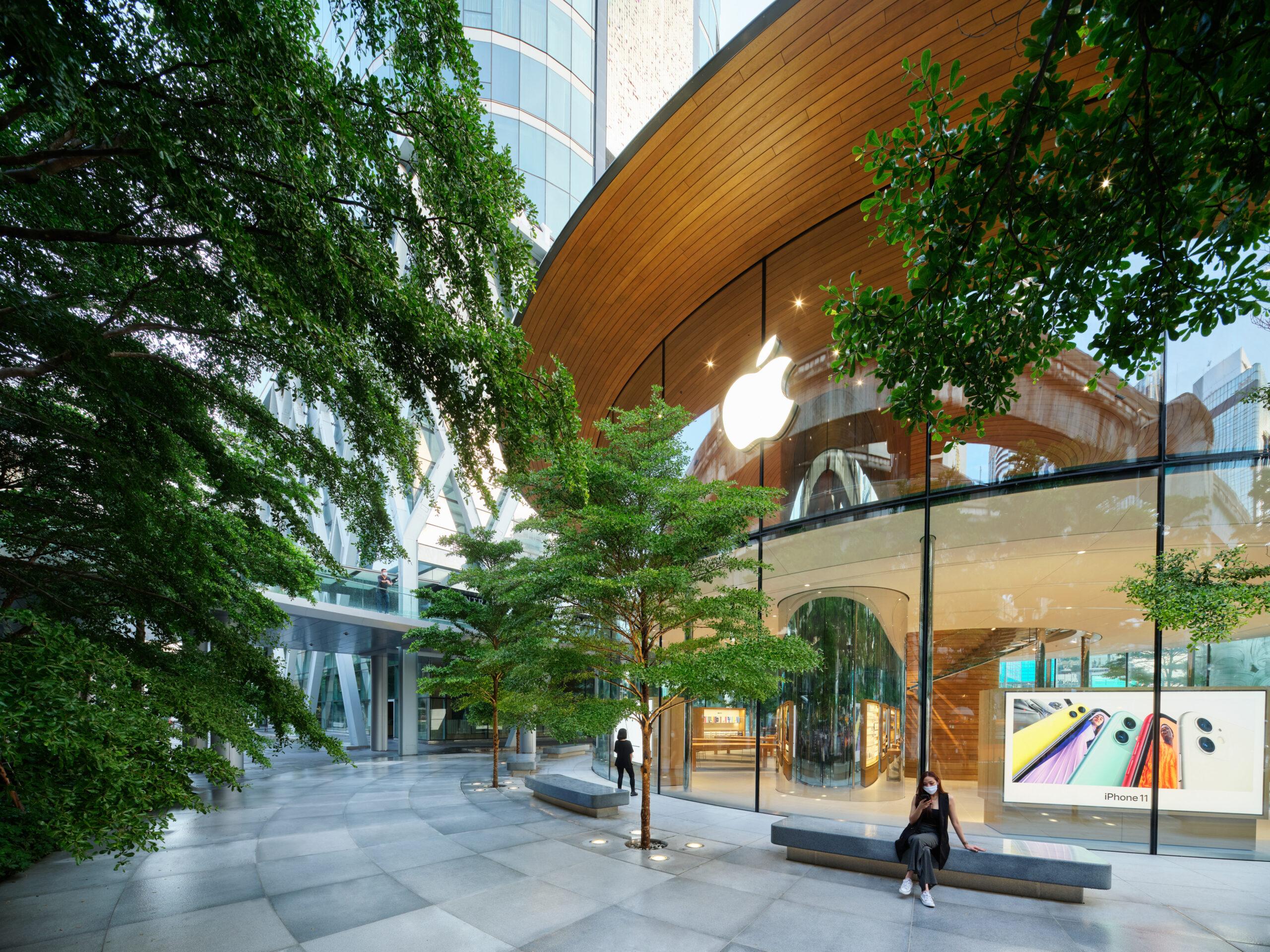 Exterior Plaza Apple Central World Bangkok