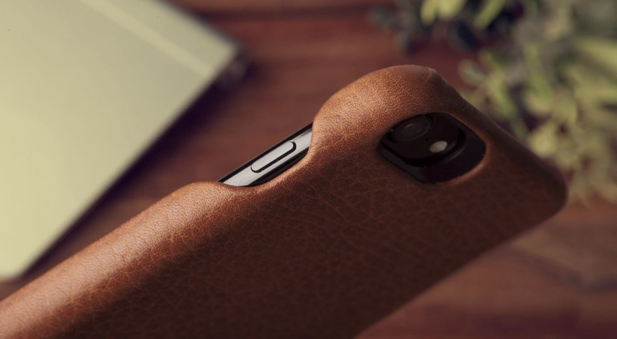 The Vaja Grip iPhone case gives you four-corner protection without blocking ports, buttons, speakers or microphones