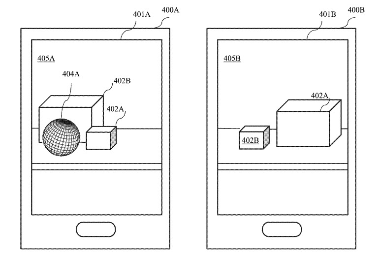 Different viewpoints could allow one device to share data about an object that another cannot see.