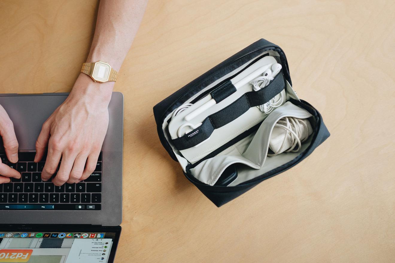 Technical organizer pouch