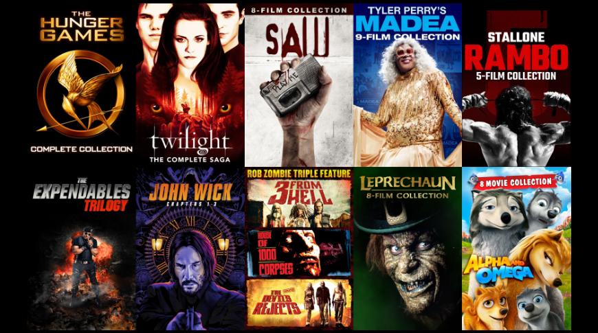 Bundled offers on films