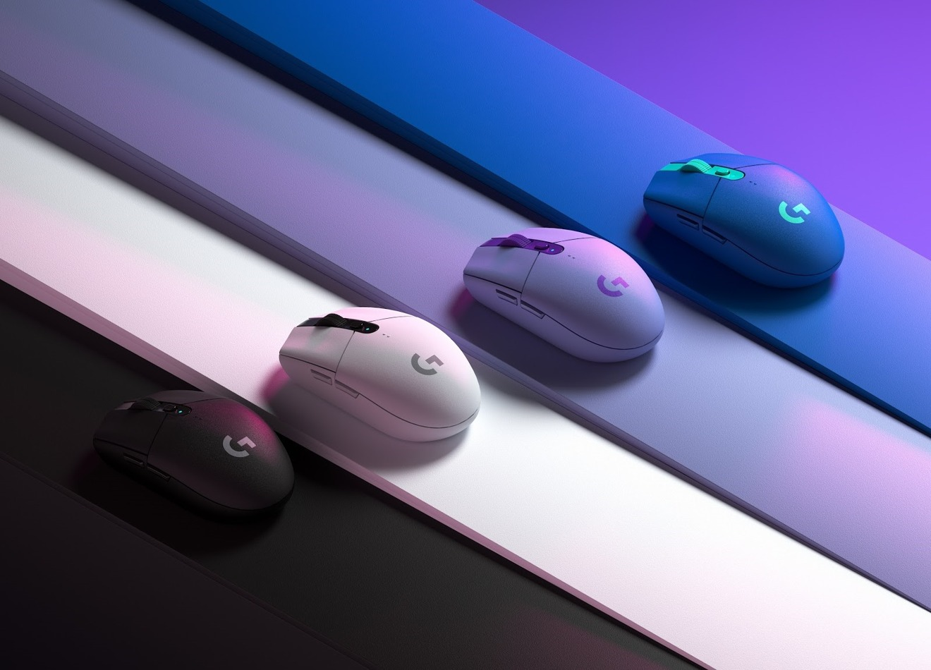 G305 Wireless Gaming Mouse Now Available in Blue and Lilac alongside White and Black