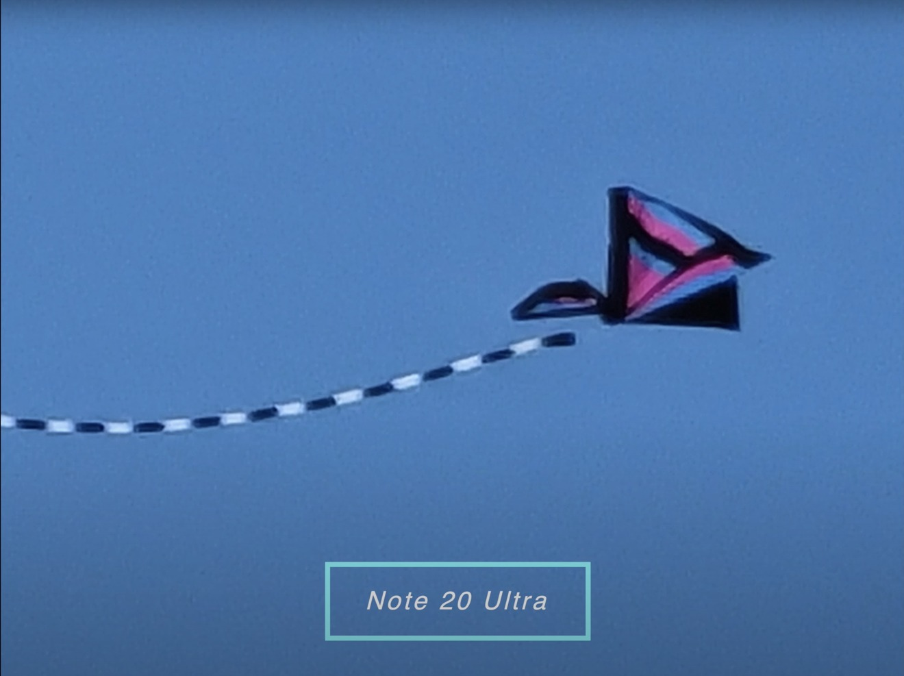 The Note 20 Ultra at 50X is even better than both