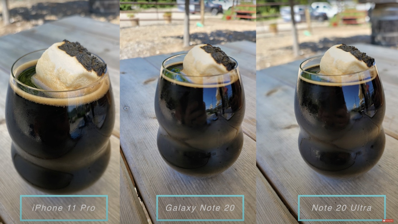 The focus of the note was an issue here, focusing on the left front of the cup rather than the top.